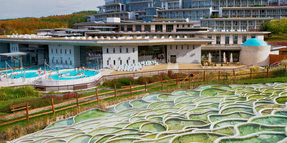 Apartmány pár krokov od výnimočných kúpeľov Egerszalók - na svete sú len 3 takéto miesta / Maďarsko - Egerszalók
