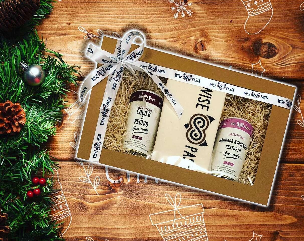 Darčekové balíčeky Wise Pasta - pre váš bezlepkový život