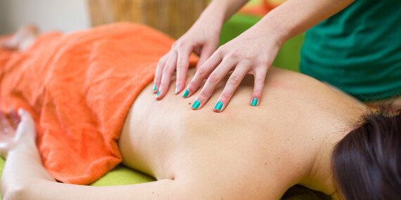 Ayurvédska masáž so špeciálnou masážou chrbta pre sedavé zamestnanie/Bratislava - Staré Mesto