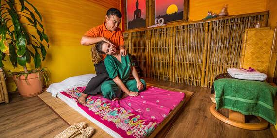 Tradičná thajská masáž v Starom Meste – obľúbený darček plný relaxu/Bratislava – Staré Mesto