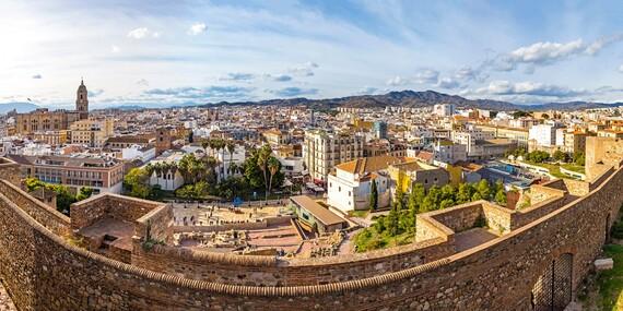 Slnečná Andalúzia a Gibraltár letecky z Bratislavy na 4 dni s ubytovaním, raňajkami a sprievodcom/Španielsko - Andalúzia, Gibraltár