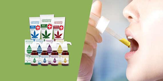 CBD olej alebo krém na úľavu od stresu, úzkosti, depresie a rôznych bolestí (doprava zdarma)/Slovensko