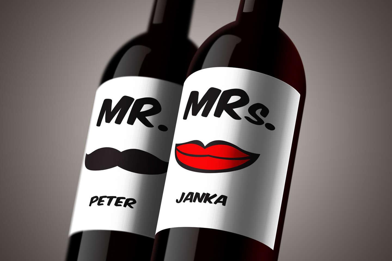 Povedzte to vínom - set valentínskych darčekových vín s vlastnou...