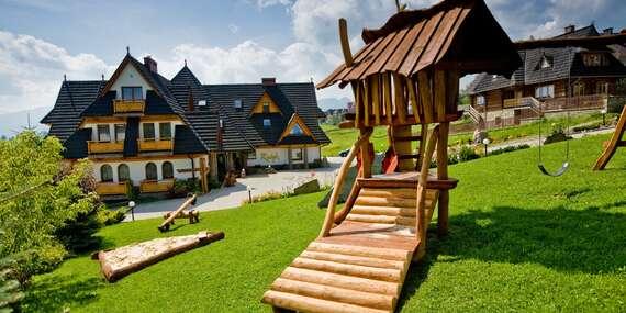 Oblíbený rodinný hotel Redyk *** s polopenzí, SPA a nádherným výhledem na hory / Polsko - Zab v Zakopanom