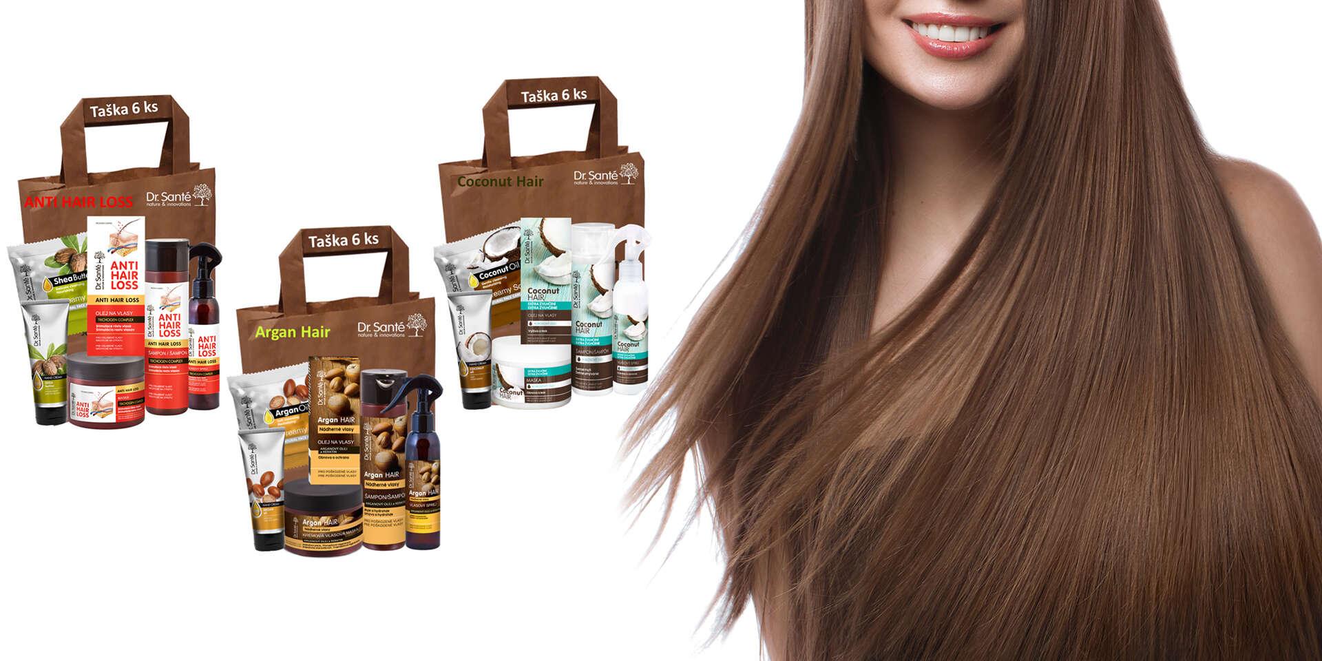 Dr. Santé darčeková taška plná kozmetiky