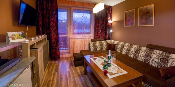 Pobyt vo Vysokých Tatrách v luxusnom 2-izbovom apartmáne****/Vysoké Tatry - Tatranská Štrba