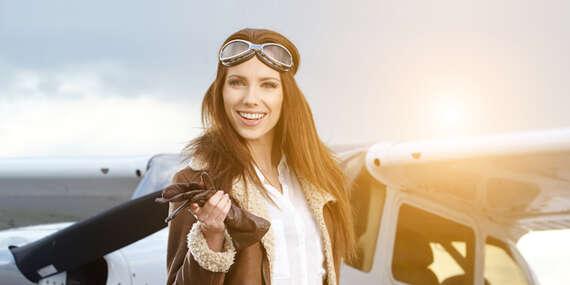 Vyleťte do výšin lietadlom a vyskúšajte si pilotovanie na vlastných krídlach/Trnava/Nitra/Sládkovičovo/Dubová/Nove Zámky