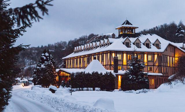 Rodinný hotel GOLFER*** v Kremnických vrchoch len 15 min. autom od lyžiarskeho strediska