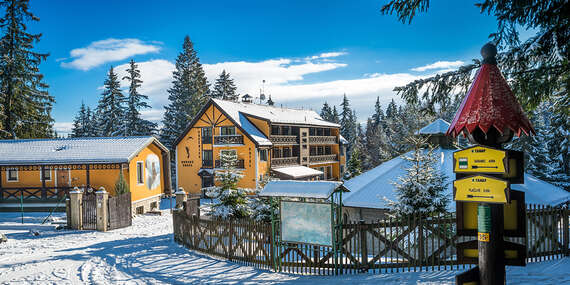 Rodinná dovolenka na Silvestra uprostred lesa v HORSKEJ CHATE OREŠNICA*** s polpenziou/Račkova dolina - Pribylina