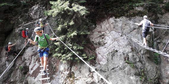 Prejdite si prvú slovenskú Via ferratu s horským sprievodcom / Slovensko