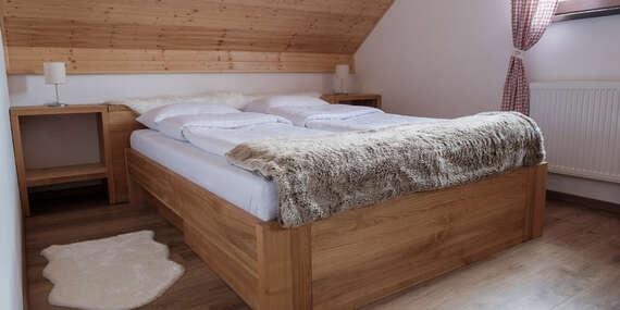 Ubytovanie v chate Marguška priamo na svahu Snowparadise Veľká Rača pre 6-10 osôb / Veľká Rača