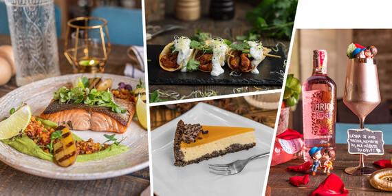 Romantické menu pre dvoch v obľúbenej reštaurácii Le Papillon v centre mesta / Bratislava – Staré Mesto