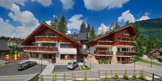 Luxusná Villa GARDENIA*** v nádhernom prostredí na Donovaloch s neskorým check out-om/Nízke Tatry - Donovaly