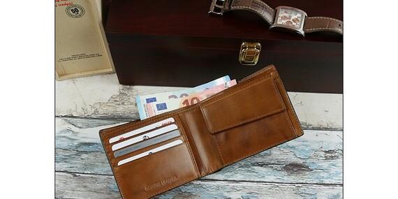 Pánske peňaženky z kože/Slovensko
