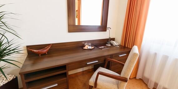Komfortný pobyt v Grand Hoteli Senica*** blízko pešej zóny, s raňajkami a vstupom do wellness/Senica