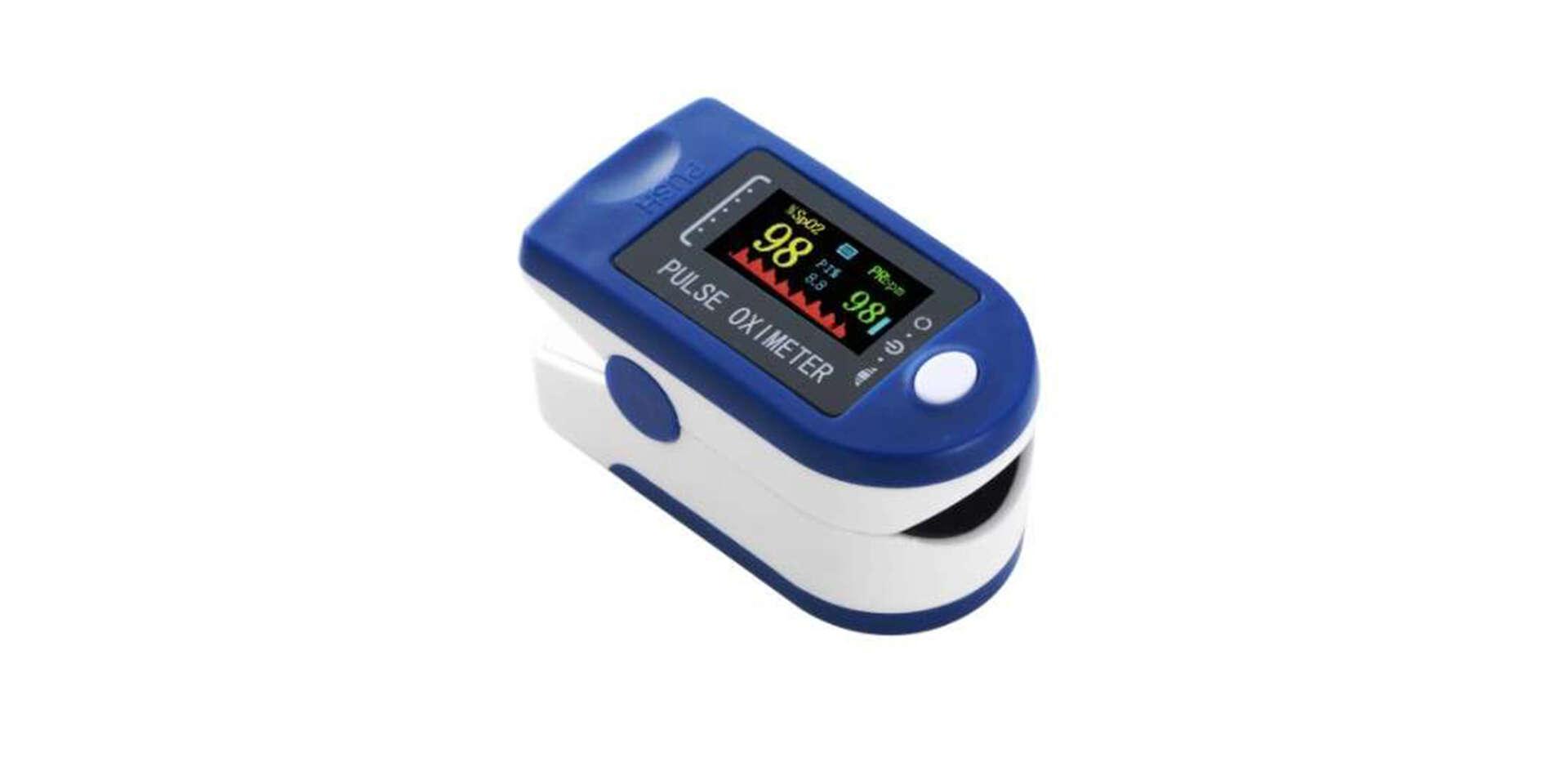 Pulzný oxymeter rýchle a presné meranie tepu a kyslíka v tele