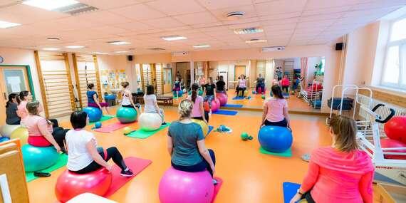 Vstup na 50 min. cvičenia v telocvični pre budúce maminky od 4 mesiaca tehotenstva/Bratislava – Ružinov