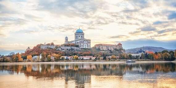EXTRA DLHÁ PLATNOSŤ: Penzión Modrá ryba s raňajkami a výhľadom na Dunaj i ostrihomskú baziliku/Chľaba