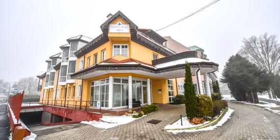 Pobyt v Aqua Hoteli Termál*** len 40 km od Bratislavy s neobmedzeným kúpaním a wellness/Maďarsko - Mosonmagyaróvár