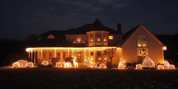 Vianočné ozdobné led osvetlenie do exteriéru aj interiéru/Slovensko