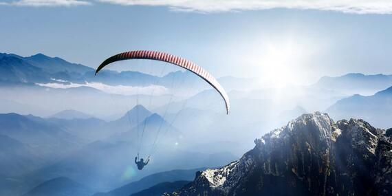 Nezabudnuteľný paragliding v tandeme vo Vysokých Tatrách / Slovensko