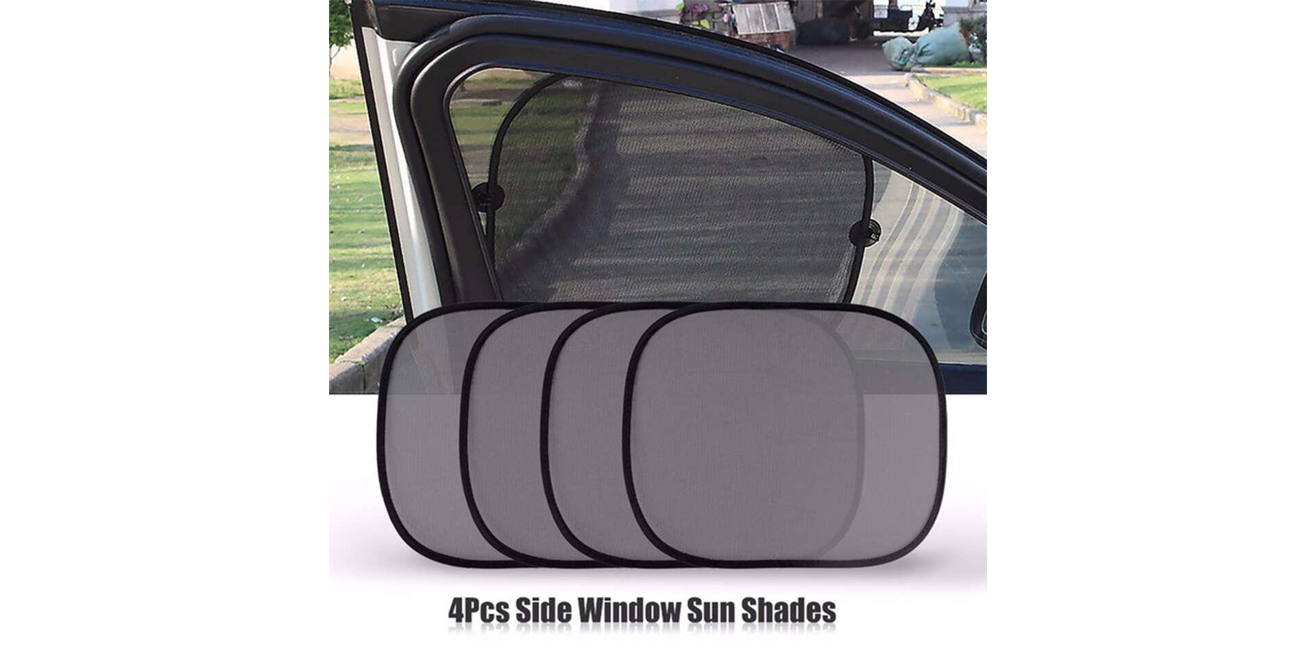 Sada 5 kusov slnečných clon do auta, chráni pred UV žiarením