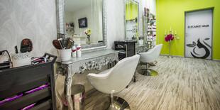 Príjemné a štýlové priestory salónu Elegancehair