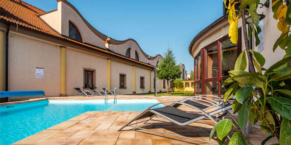 Relaxačný pobyt v lesnom prostredí vo Wellness Hoteli Spark**** na Záhorí/Malacky
