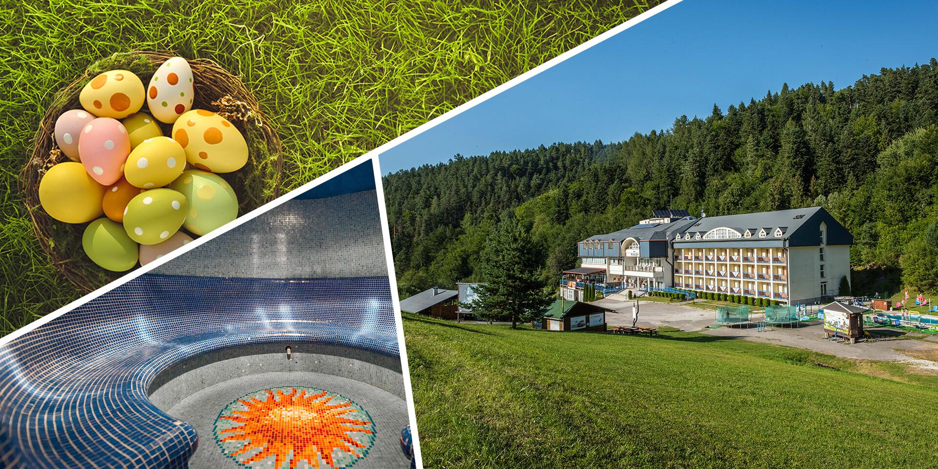 Veľká noc s wellness na Spiši v Hoteli Plejsy Spa & Fun Resort ***