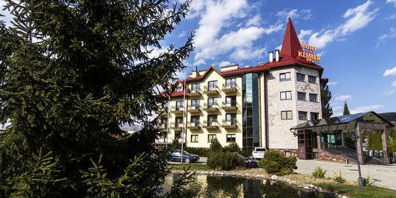 Dovolenka v krásnom prostredí s ubytovaním a polpenziou v známom hoteli Klimek**** / Poľsko - Muszyna
