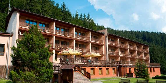 Pobyt v súkromí hôr priamo pod hrebeňom Javorníkov s bazénom, masážou a polpenziou v hoteli Podjavorník/Papradno