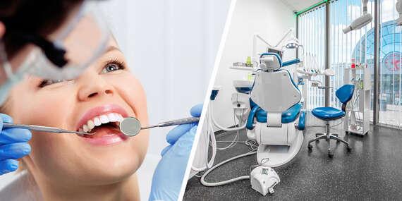 Black & White Dental Clinic: Biely úsmev na počkanie alebo vstupná zubná prehliadka/Bratislava – Petržalka – Vienna Gate