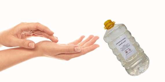 Chraňte se před viry, plísněmi a bakteriemi pomocí dezinfekčního přípravku rukou o obsahu 1 nebo 5 litrů/ČR