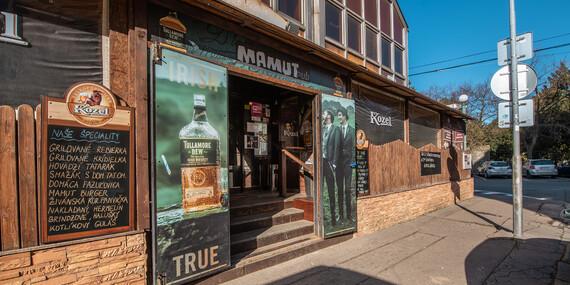 Tatarák z hovädzieho mäsa a 8 hrianok pre 2 osoby v bratislavskom Mamut pube/Bratislava - Staré Mesto