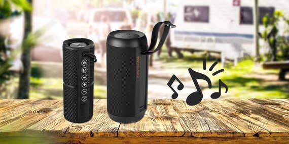 Bezdrôtový Bluetooth reproduktor ECG na 7 až 12 hodín hudby kdekoľvek/Slovensko