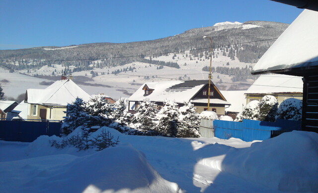 Zima v chate s wellnessom pod Kráľovou hoľou pre 8 ľudí