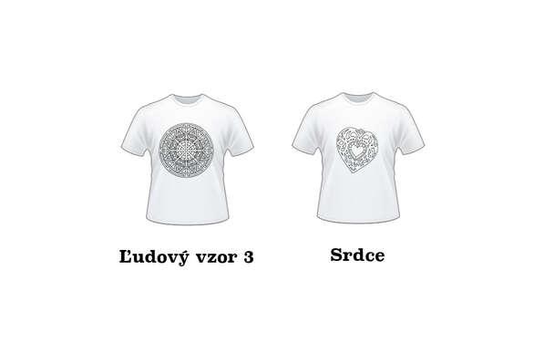Omaľovánkové antistresové tričko pre deti a dospelých.