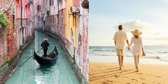 Romantické Benátky a mesto večnej lásky Verona/Taliansko – Benátky