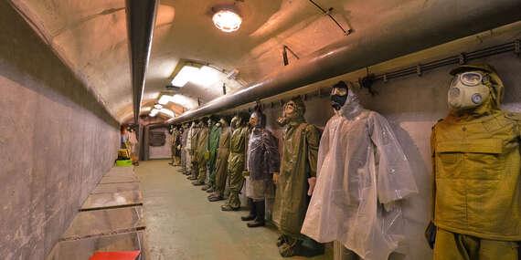 Navštivte atomový bunkr a poznejte atmosféru Studené války včetně komentované vycházky/Praha - Žižkov