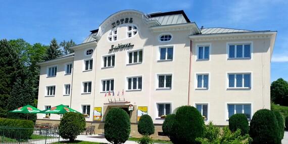 Krušnohorský pobyt s neomezeným wellness v hotelu Subterra s polopenzí pro dva/Krušné hory