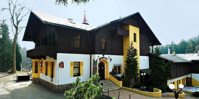 17% Jizerské hory: 3 denní pobyt pro DVA v hotelu…