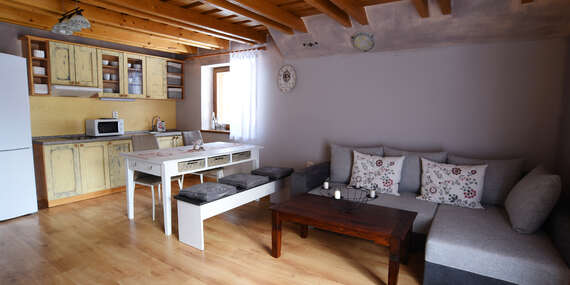 Rozprávkové ubytovanie na Táloch v apartmánovom dome Fairy-Tale v apartmáne až pre 8 ľudí/Tále - Horná Lehota