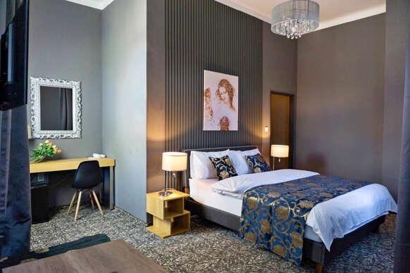 39% Stylový odpočinek s polopenzí v butikovém hotelu…
