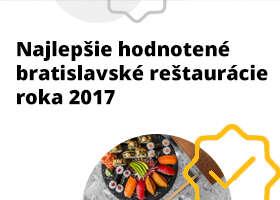 Pozrite si bratislavské reštaurácie s najlepšími hodnoteniami na ZľavaDňa za rok 2017