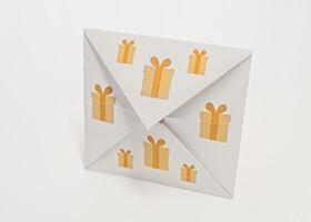 Poskladajte si krásny darčekový kupón