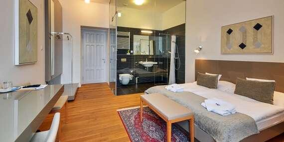 Relax s polpenziou v historickom hoteli Lev*** s možnosťou využitia wellness - priamo v centre mesta/Levice