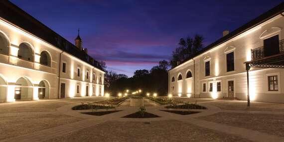 Dovolenka v jedinečnom Château Appony**** s perfektným wellness, chutnou polpenziou, už od 1 noci/Topoľčany - Oponice