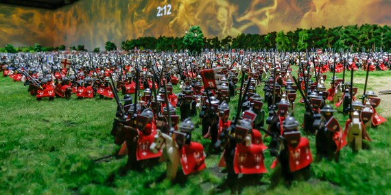 Interaktívny HistoryLand z milióna kúskov LEGA - vzrušujúci zážitok pre celú rodinu / Poľsko - Krakov