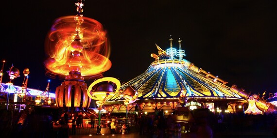 4denní zájezd do Paříže včetně návštěvy pohádkového Disneylandu, Eiffelovy věže i mořského světa s ubytováním v hotelu se snídaní/Francie Paříž