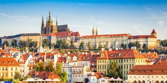 Praha s ubytováním na 2-3 dny v hotelu Golden Golem pro 2 osoby se snídaní a poukazem na večeři/Praha